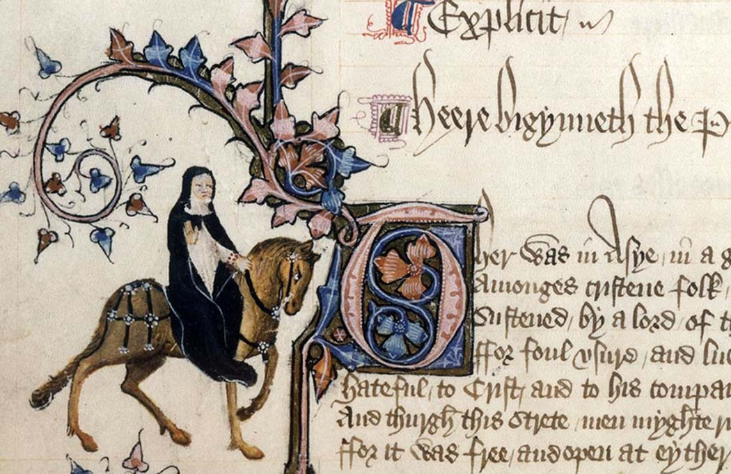 an analysis of the prioress madame eglantine in the general prologue in the canterbury tales The character of the prioress in the canterbury tales from litcharts & analysis general prologue the narrator next describes the prioress, a nun named madame.