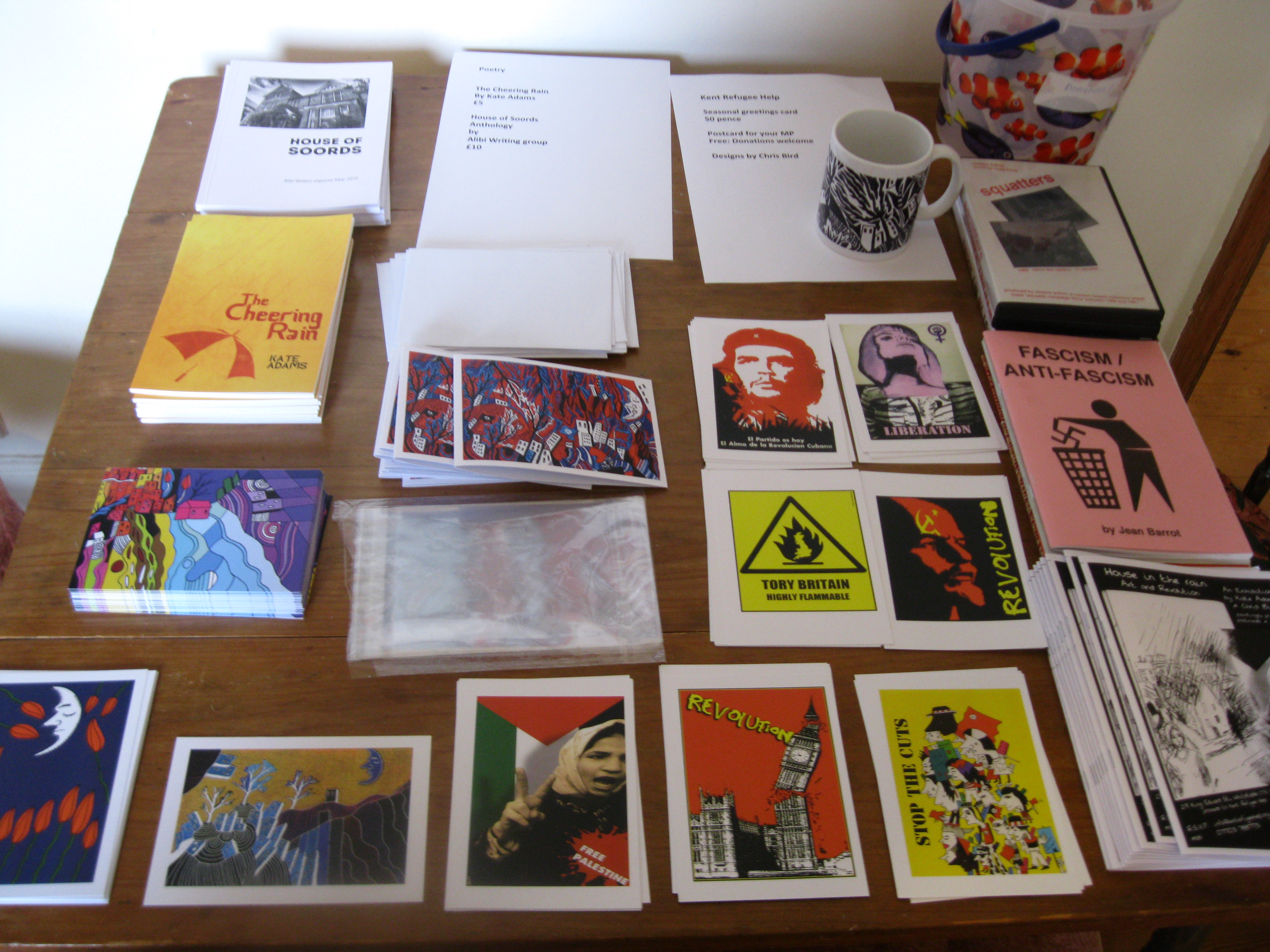 Art and Revolution images, Chris Bird